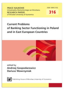 Banking inclusion as a component of the competition strategies of commercial banks. Prace Naukowe Uniwersytetu Ekonomicznego we Wrocławiu = Research Papers of Wrocław University of Economics, 2013, Nr 316, s. 67-79