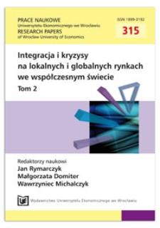 Problem rozszerzenia Unii Europejskiej na przykładzie Ukrainy. Prace Naukowe Uniwersytetu Ekonomicznego we Wrocławiu = Research Papers of Wrocław University of Economics, 2013, Nr 315, T. 2, s. 32-40