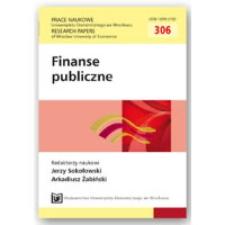Czy Unia Europejska potrzebuje unii fiskalnej? Prace Naukowe Uniwersytetu Ekonomicznego we Wrocławiu = Research Papers of Wrocław University of Economics, 2013, Nr 306, s. 86-97