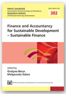 Financing the transition to green economy in Europe. Prace Naukowe Uniwersytetu Ekonomicznego we Wrocławiu = Research Papers of Wrocław University of Economics, 2013, Nr 302, s. 146-155