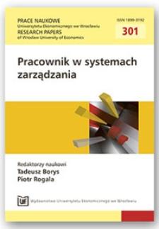 Możliwości koopetycji w przedsiębiorstwach o różnych strukturach organizacyjnych. Prace Naukowe Uniwersytetu Ekonomicznego we Wrocławiu = Research Papers of Wrocław University of Economics, 2013, Nr 301, s.45-54
