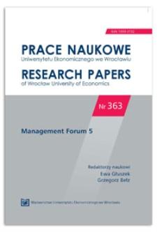 W poszukiwaniu kontekstu odnowy strategicznej: czy wielkość i wiek przedsiębiorstwa mają znaczenie? Management Forum, 2014, Nr 5, s. 9-17