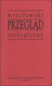 Wrocławski Przegląd Teologiczny, R.6 (1998), nr 2