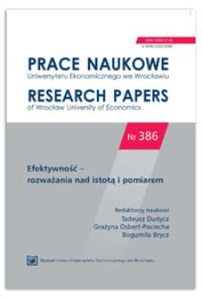 Efektywność procesów innowacyjnych realizowanych przez polskie przedsiębiorstwa sektora MSP. Rezultaty badań empirycznych