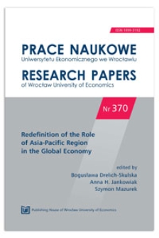 Role and significance of Asia and Europe in the U.S. policy. Prace Naukowe Uniwersytetu Ekonomicznego we Wrocławiu = Research Papers of Wrocław University of Economics, 2014, Nr 370, s. 28-40