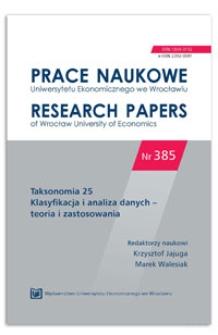 Porównanie struktury lokalnych rynków pracy wyznaczonych przy wykorzystaniu różnych metod w Polsce w latach 2006 i 2011. Prace Naukowe Uniwersytetu Ekonomicznego we Wrocławiu = Research Papers of Wrocław University of Economics, 2015, Nr 385, s. 111-119