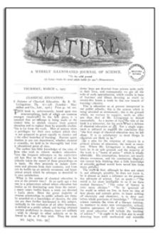 Nature : a Weekly Illustrated Journal of Science. Volume 99, 1917 April 5, [No. 2475]