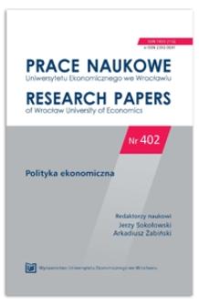 Family policy as a postulate in the Polish presidential election in 2015. Prace Naukowe Uniwersytetu Ekonomicznego we Wrocławiu = Research Papers of Wrocław University of Economics, 2015, Nr 402, s. 273-283