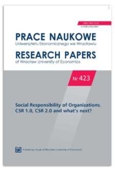 Acquaintance with the fair trade idea in Poland – results of the research