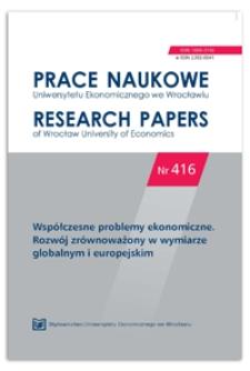 Zmiany pozycji konkurencyjnej regionów NUTS 3 w Europie Środkowo-Wschodniej w latach 2000-2012. Prace Naukowe Uniwersytetu Ekonomicznego we Wrocławiu = Research Papers of Wrocław University of Economics, 2016, Nr 416, s. 83-94