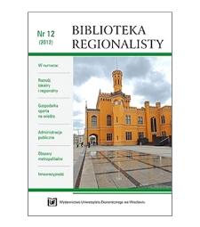 Identyfikacja kluczowych barier innowacyjności przedsiębiorstw w regionach Polski