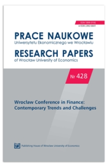 Daily changes of the sovereign bond yields of southern euro area countries during the recent crisis. Prace Naukowe Uniwersytetu Ekonomicznego we Wrocławiu = Research Papers of Wrocław University of Economics, 2016, Nr 428, s. 83-92