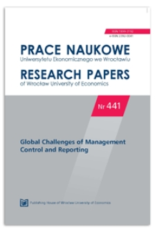 The lean thinking in overhead cost-cutting. Prace Naukowe Uniwersytetu Ekonomicznego we Wrocławiu = Research Papers of Wrocław University of Economics, 2016, Nr 441, s. 34-46