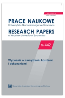 Przychody z działalności badawczej jako miernik dokonań szkół wyższych - analiza w odniesieniu do wielkości relatywnych