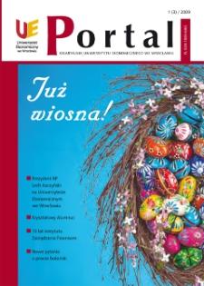 Portal: kwartalnik Uniwersytetu Ekonomicznego we Wrocławiu, 2009, Nr 1 (3)