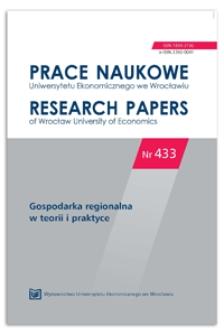 Regiony polskie w klasyfikacji pod względem poziomu inteligentnego rozwoju i wrażliwości na kryzys ekonomiczny