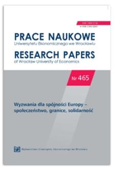 Miasta i obszary słabo zurbanizowane a procesy konwergencji gospodarczej w Polsce