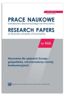 Centra regionów a spójność regionalna w Polsce