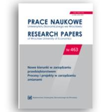 Doskonalenie procesu innowacji w przedsiębiorstwach przemysłowych – wyniki badań