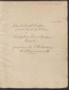Ułomek kroniki Baszka [...] i archidyakona Jana z Czarnkowa. Kronika przepisana dla J. Muczkowskiego dla kollacyonowania z mss.