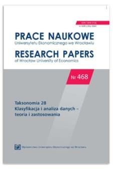 Zastosowanie metod taksonomicznych i ekonometrycznych w wielowymiarowej analizie poziomu życia mieszkańców powiatów w Polsce