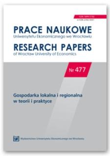 Przygotowanie samorządów do współpracy z zagranicznym inwestorem. Przykład gmin wiejskich województwa wielkopolskiego