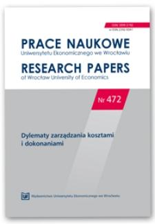 Strategiczne cele uczelni publicznych w Polsce według perspektyw zbilansowanej karty wyników – wyniki badań