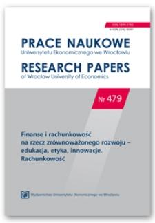 Zmiany poziomu ujawnień środowiskowych informacji finansowych w raportach rocznych wybranych spółek publicznych