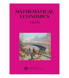 Contens [Mathematical Economics, 2016, Nr 12 (19)]