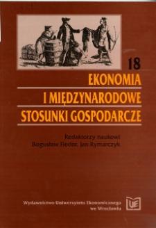Prace Naukowe Uniwersytetu Ekonomicznego we Wrocławiu, 2008, Nr 12