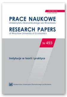 Instytucje nieformalne na rynku pracy w Polsce
