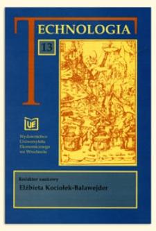 Prace Naukowe Uniwersytetu Ekonomicznego we Wrocławiu, 2008, Nr 30