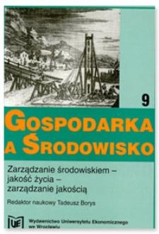 Prace Naukowe Uniwersytetu Ekonomicznego we Wrocławiu, 2008, Nr 22