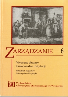 Prace Naukowe Uniwersytetu Ekonomicznego we Wrocławiu, 2008, Nr 24