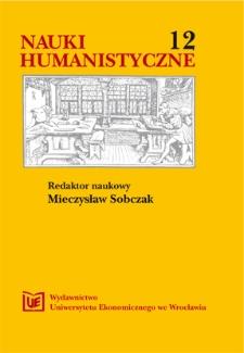Prace Naukowe Uniwersytetu Ekonomicznego we Wrocławiu, 2008, Nr 26