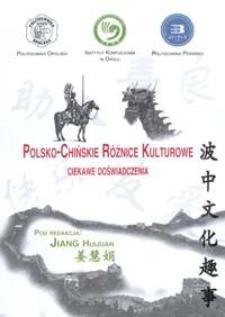 Polsko-chińskie różnice kulturowe : ciekawe doświadczenia