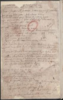 Miscellanea historyczne z XVI-XVII w., dotyczące głównie spraw politycznych Polski za panowania Zygmunta III i Władysława IV