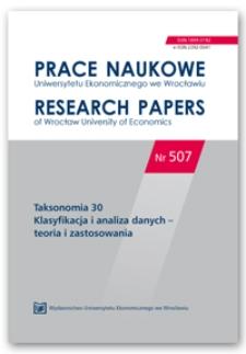 Modelowanie trwania firm powstałych w Szczecinie w latach 1990–2013