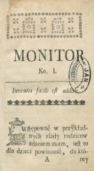 Monitor Warszawski. R.1765 Nr 71
