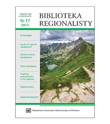 Contens [Biblioteka Regionalisty, 2017, Nr 17]