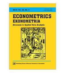 Spis treści [Econometrics = Ekonometria, 2018, Vol. 22, No.3]