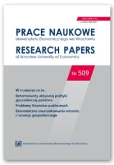 Morfologia cykli koniunkturalnych i cykli bankowych w gospodarce polskiej w latach 2000-2017