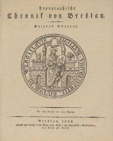 Topographische Chronik von Breslau. Drittes Quartal