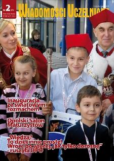 Wiadomości Uczelniane : pismo informacyjne Politechniki Opolskiej, nr 2 (179), listopad-grudzień 2008