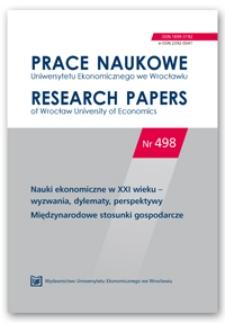 Czynniki determinujące pozycję konkurencyjną gospodarki – Polska na tle nowych państw członkowskich UE