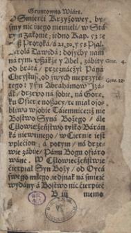 Nauka Prawego Chrześcijanina przez Benedicta Herbesta [...] napisana [...]