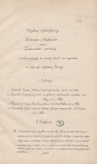 Wykaz alfabetyczny biskupów i kapłanów oraz zakonników polskich przebywających w obecnej chwili na wygnaniu w Syberyi i głębokiej Rossyi