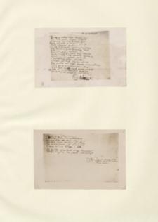 [Autografy utworów, pisma, korespondencja, materiały osobiste i inne dotyczące Adama Mickiewicza] T. II