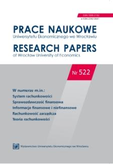 Koncepcja prawdy w sprawozdawczości finansowej wobec oczekiwań współczesnej gospodarki