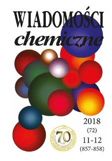 Wiadomości Chemiczne, Vol. 72, 2018, nr 11-12 (857-858)
